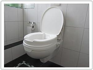 Toilettensitzerhöhung Relaxon Basic mit Deckel, 1Stück