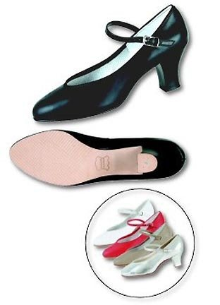 Women's Silver Musical Comedy Dance Shoes