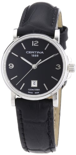 Certina Ladies 'Watch XS Analog Quartz Leather c017.210.16.057.00