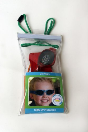Real Kids Shades My First Shades (2-5 Years, Royal Frame with Red Flames)