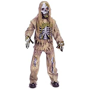 Official Costumes Skeleton Zombie Costume Small