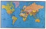 Carte Souple Murale Planisphere [Fournitures de bureau]