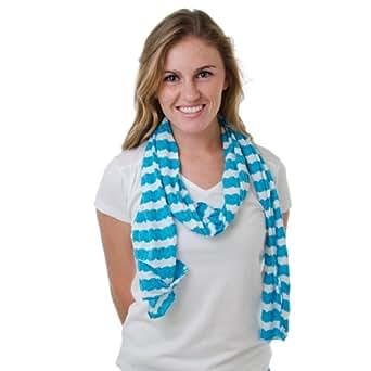 pretty persuasions bubblegum blue scarf at women s