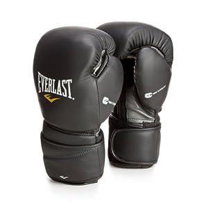 Buy Everlast Protex2 Leather Hook & Loop Gloves by Everlast