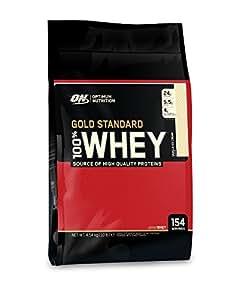 Optimum Nutrition Protéine 100% Whey Gold Standard Crème Glacée à la Vanille 4,54 kg