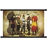"Avatar: The Legend of Korra Cartoon Fabric Wall Scroll Poster (32"" x 20"") Inches"