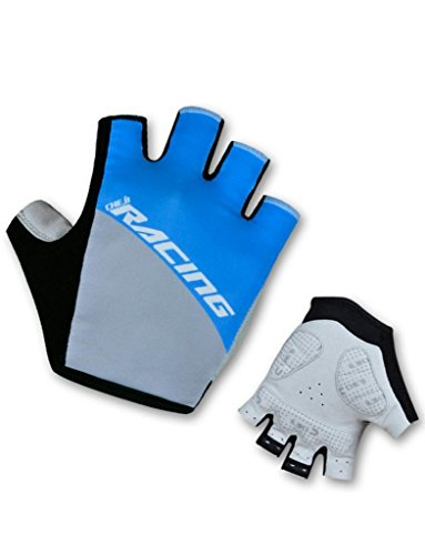 iCreat Fahrradhandschuhe Fahrrad Mountainbike Handschuhe Bike Gloves Herren Damen S/M/L/XL
