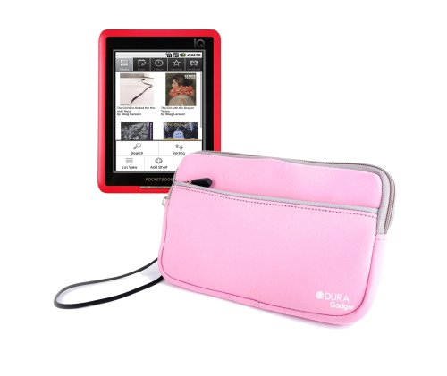 Protective eReader Sleeve For Pocketbook Pro 602, IQ 701, 360° With Wrist Strap By DURAGADGET at Electronic-Readers.com