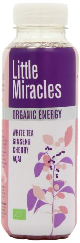 Little Miracles Organic White Tea Energy Drink 330 ml (Pack of 6)
