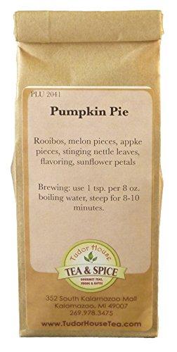 Tudor House Tea & Spice Loose Herbal Tea (Pumpkin Pie Rooibos, 2 Ounce Bag)