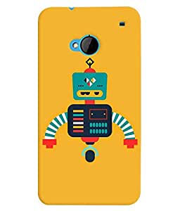 TOUCHNER (TN) Robot Back Case Cover for HTC One M7::HTC M7