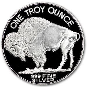 NEW Buffalo/Indian Head Nickel Art Coin 1 TROY OZ .999 SILVER BULLION