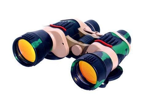 20X50 Camo Binoculars With Compass And Bag
