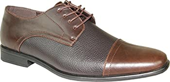 Bravo Brown Matte Dress Oxford Mens Shoes