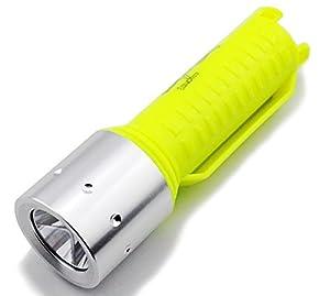 CREE impermeable XM-T6 2000LM LED linterna subacuática de la lámpara de la antorcha 3 durante 18650 T6 LED LED súper