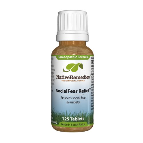 Native Remedies Socialfear Relief To Temporarily Relieve Social Fear And Anxiety (125 Tablets)
