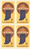 Indiana Sesquicentennial Set of 4 x 5 Cent US Postage Stamps NEW Scot 1308 by USPS