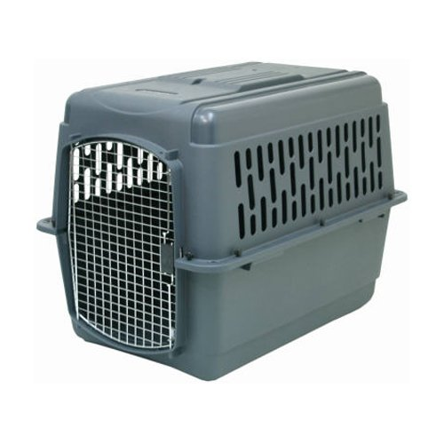 Petmate 21184 Pet Porter 2 Kennel, For Pets 70-90 Pounds, Dark Gray