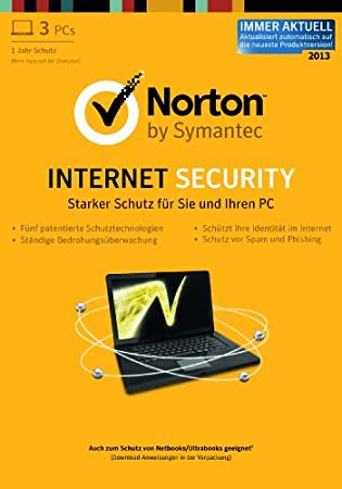 Norton Internet Security 2013 - 3PCs  [Download]