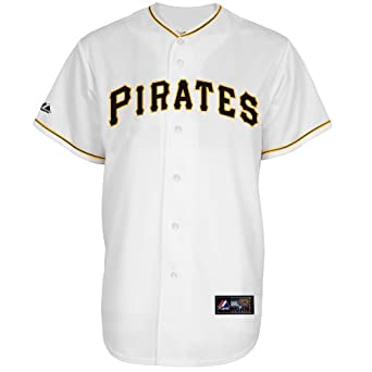 Pittsburgh Pirates Home Replica Jersey by Majestic by Majestic
