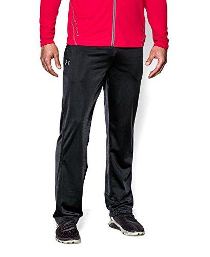 Under Armour Men's Relentless Warm-Up Pants - Straight Leg, Black/Black, XX-Large