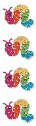 Jillson Roberts Prismatic Stickers, Bookworm, 12-Sheet Count (S7036)