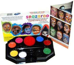 Rainbow Face Painting for Kids Kit