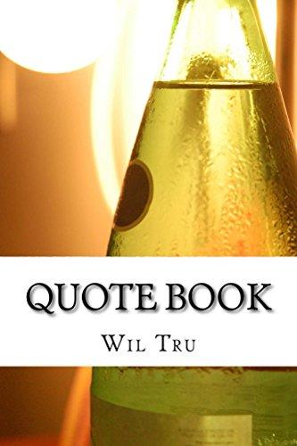 Quote Book (Tru Table Llc compare prices)
