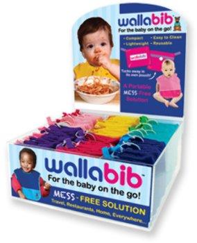 Wallabib: Foldable Reusable Bib front-1017654