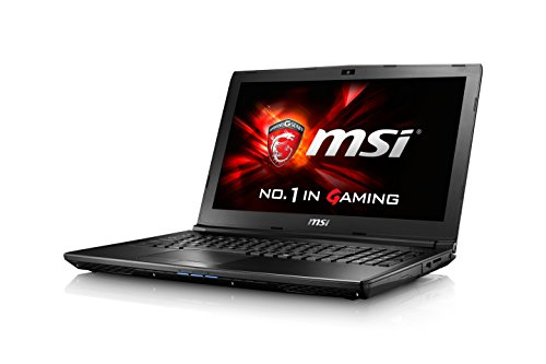 MSI GL62 (6QC-065) Gaming Laptop, Skylake Intel Core i5-6300HQ 2.3GHz, 8GB DDR4 RAM, 1TB HDD, 15.6″ FHD, DVDRW, nVidia 940MX 2GB, WIFI, Bluetooth, Windows 10 Home 64bit