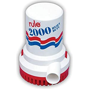 Buy Rule 2000 G.P.H. Bilge Pump by Rule