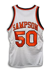 Ralph Sampson Signed Jersey - with 3X College Player of the Year Inscription -... by Sports+Memorabilia