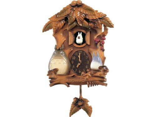 My Neighbor Totoro and CITIZEN citizen and cuckoo clock [4MJ806MA06]