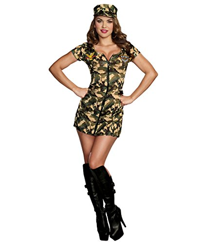 Army Doll Sexy Womens Costume