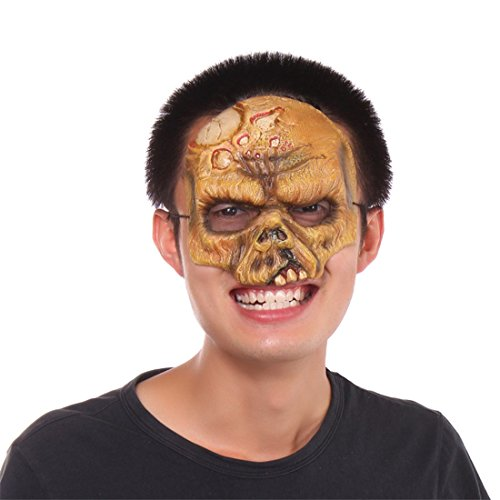 Halloween Masquerade Skull Skeleton Zombie Costume Cosplay Party Face Mask