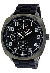 FMD Black Large Rubber Mens Watch FMDMO108