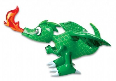 Inflatable 30-Inch Dragon