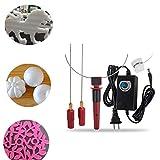 Foam Cutter,Finlon Wire Foam Cutter Tool Electric Hot Foam Cutter Machine Engraver Sculpting DIY Tool Set Kit US Plug (Color: red)