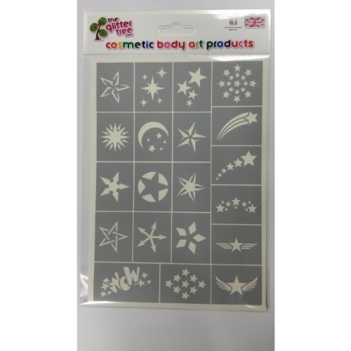 20-star-stencil-sheet-perfect-for-glitter-tattoos-and-body-art