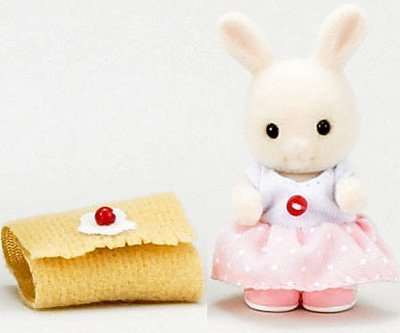 Kisekae D-10 of the Sylvanian Families Kisekae baby by Epoch - 1