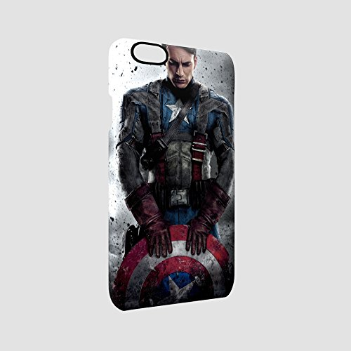 Captain America Civil War Shield Glossy Hard Snap-On Protective iPhone 6 / iPhone 6s Case Cover