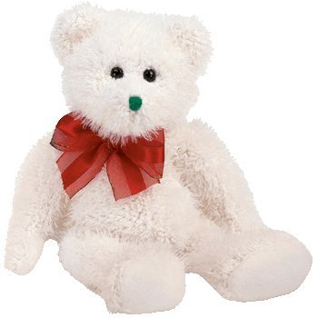 TY Beanie Baby - 2004 HOLIDAY TEDDY - 1