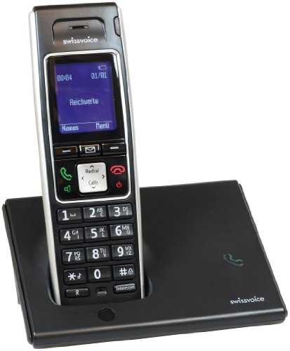 Swissvoice Avena 248 Cordless Phone ( DECT,Hands Free Functionality, Low Radiation, Elderly Friendly Phone ) picture