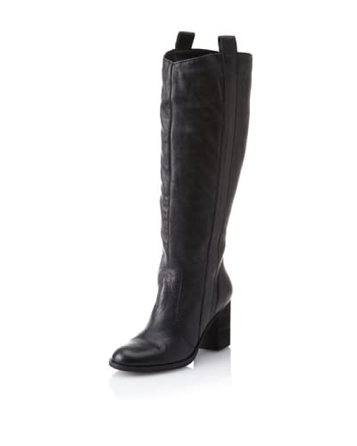 STEVEN by Steve Madden Women's Twistd Long Boot  - Black