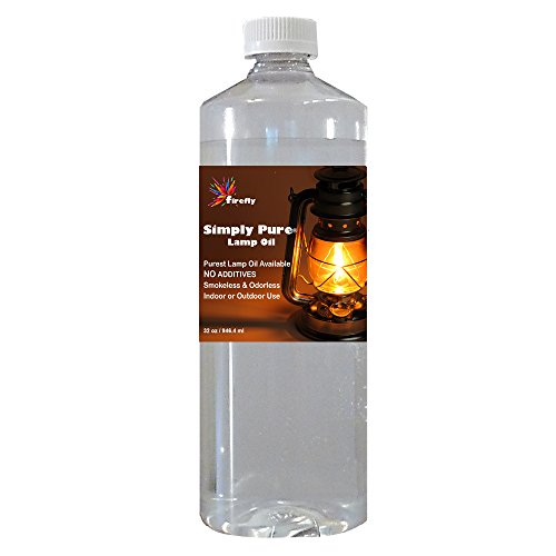 Firefly Candle and Lamp Oil - 32 oz - Smokeless & Odorless