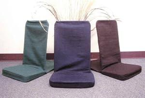 Back Jack Floor Chair (Original BackJack Chairs) - Standard Size (Black)