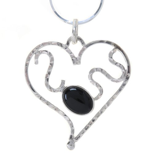 Tianguis Jackson Sterling Silver Onyx Pendant