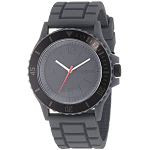 Quiksilver Men's QWMA010-GUN Analog Turning Bezel Watch