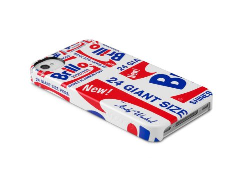 INCASE(インケース)iPhone4/4S Andy Warhol Warhol Snap Case BRILLO ブリロ (iphone4&4S用, BRILLO)