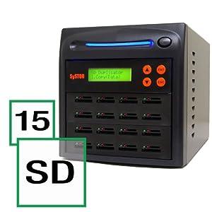 SD/microSD Drive Memory Card Reader Duplicator / Copier (SD-15
